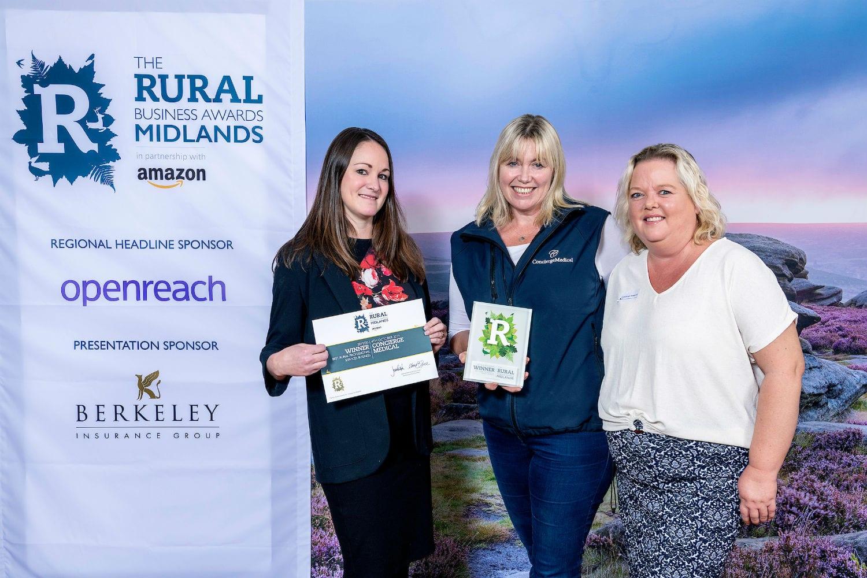 Concierge Medical - Midlands Rural Business Awards